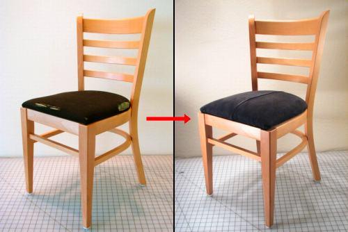 manualidad recubrir silla